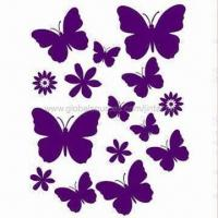 Quality Wall Decoration Stickers, Made of PVC and Vinyl, Available in Various Sizes, Eco-friendly for sale