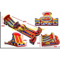 Buy cheap Indoor inflatable playground , kids inflatable obstacle course , inflatable fun park city from wholesalers