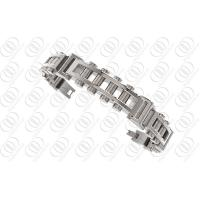 China Ti2 Titanium Jewelry Chain Link Bracelet With Polished and Brushed Finish on sale