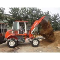 China 4 wheel drive wheel loader with 0.7 m3 bucket capacity on sale