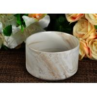 Quality Round Shaped Marbel Ceramic Holder for Tealight or Candle Making for sale