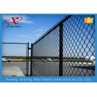 Quality Multi Function Diamond Wire Netting , Chain Link Mesh Fence Twist / Knuckle for sale
