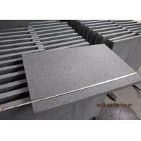 Flamed Surface Natural Stone Tiles G684 Basalt Paving Slabs Customized Dimension for sale