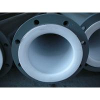 Quality Anti-Corrosion PTFE Teflon Tube / PTFE Lined Pipe Power Plant for sale