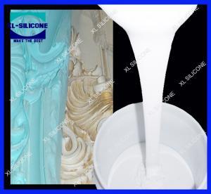 Quality RTV Molding silicone rubber for gypsum/plaster cornice moldmaking (Tin Condensation silicone rubber for sale