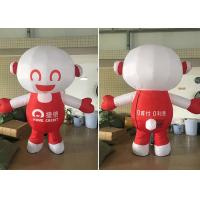Quality Walking Cartoon Custom Advertising Inflatables PVC / Oxford Material for sale