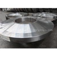 Quality ST52 ST60-2 Carbon Steel Forged Rings Flanges Heat Treatment for sale