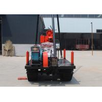 China High Performance Horizontal Directional Drilling Rig / Portable Water Well Drilling Rigs on sale