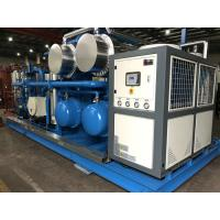 Quality Skid Mounted Hydrocarbon Recovery Unit , Refrigerant Recovery Machine Simple Installation for sale
