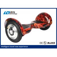 Quality Flame Pattern 2 Wheel Smart Balance Electric Scooter Hoverboard 72*35*34cm Outer Carton for sale