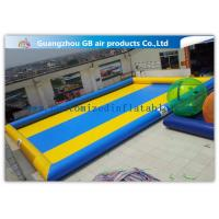 China Customized Double Color Portable Inflatable Rectangular Pool For Adults / Kiddie on sale