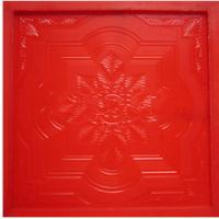 Quality durable gypsum ceiling tile moulds for sale