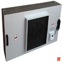 Buy cheap Painted Steel Industrial Fan Filter Unit Outer Size 1220*610*390mm Longer Using Life from wholesalers