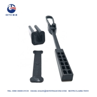 Quality FTTH Accessories Plastic Drop ISO Wire Tension Clamp for sale