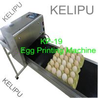 The Whole Pallet Egg Printing Machine , Industrial Inkjet Printer For Eggs for sale