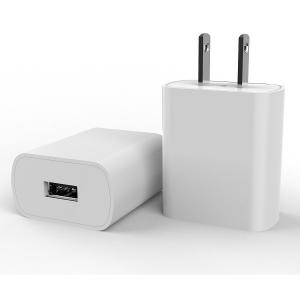 Quality FCC 5V2.4A Single USB Charger USA By Fixed Plug for sale