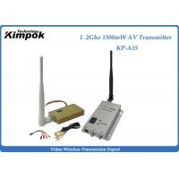 Quality Professional Wireless Video Transmitter With 1500mW , 2KM Transmit Distance for sale