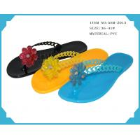 Quality Sell ladies  PVC frashion slippers for 2013 ASM-2013 36-41# for sale