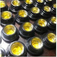Buy cheap 5ml / 7ml / 9ml Glass Concentrate Containers With Chrome Plated Inside from wholesalers