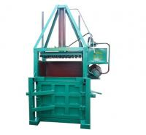 Quality Compressor Supermarket Garbage / Carton / Waste Paper Baler Machine for sale