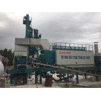 Quality 30T Filler Tank Full Automatic Batching Plant , Asphalt Mobile Plant Ingersoll Rand Air Compressor for sale