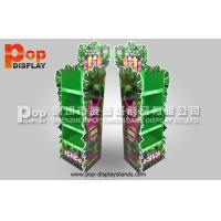 Quality 4 Tiers flower shape KT board 350 Gram CCNB Corrugated Floor Stand / POS for sale
