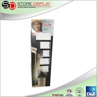 China Custom floor display stand with bilster tray for cosmetic advertising from China supplier on sale