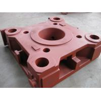 China CNC Milling Resin sand casting ductile iron platen for plastic injection molding Machine on sale