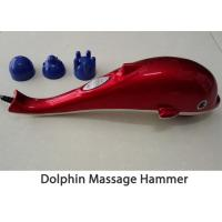 Quality 3 Massage Head Portable Body Massager , Infrared Dolphin Massage Hammer for sale