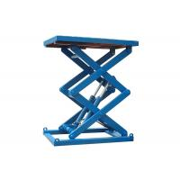 Quality Fixed Electric Hydraulic Scissor Lift Table Custom Service Acceptable for sale