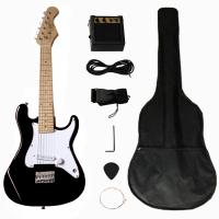 Buy Solidwood 31 inch Fender Electric Toy Guitar ST Style for Children at wholesale prices