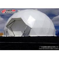 Quality Multi Functional Geodesic Dome Tent For Conference Custom Sidewall Anti UV for sale