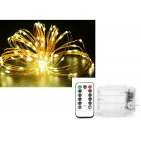 Quality Christmas Starry String Lights Battery Operated Easily Bended Around Trees for sale