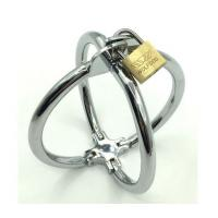 Quality Alloy Delay Lock Sex Vibrating Cock Ring Metal Stainless Steel 2 Style for sale