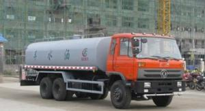 Quality Dongfeng 6x4 20000L 210hp Water Bowser Truck Double Back Bridge for sale