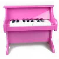 Quality Colorful 185 Key Toy Wooden Piano Upright Desk / Table Top For Kids for sale