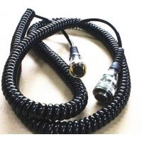 Quality Durable TPU Power Signal Adapter Coiled Power Cord Lead Vehicle Plane Electronics Usage for sale