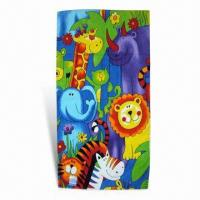 Quality Beach Towel for Promotions, Made of 100% Cotton, Measures 75 x 150cm for sale