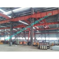 China Metal Customized Prefab Industrial Steel Buildings Easy Erection With C Purlins on sale