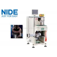 Quality NIDE stator coil lacing machine with CNC control design and HIM program for sale