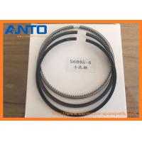 Quality 6209-31-2400 6209-39-2400 6209-38-2400 S6D95-6 Piston Ring ASSY Applied To PC200-6 Excavator Engine Parts for sale