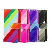 Quality Colorful PU Custom Made Samsung Galaxy Phone Cases With Card Pocket for sale