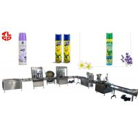 Quality Aerosol Spray Filling Line for Room Air Freshener for sale