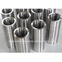 Quality Black Painted Welded Stainless Steel Pipe OD 20 - 500mm Customized 300 Series for sale
