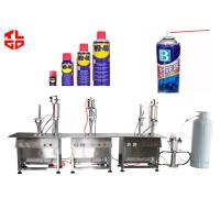 Quality Aerosol Spray Can Filling Machine for sale