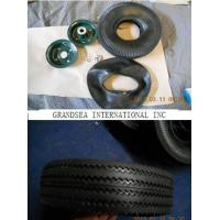 China Rubber Wheel 4.10/3.50-4  TYRE TIRE TUBE on sale