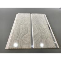 Buy PVC Wood Panels Peanut Pattern Groove Shape Size 250 × 7mm With High Strength at wholesale prices