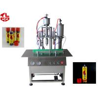 Quality Semi Automatic LPG Gas Filling Machine / Butane Gas Refilling Machine High Speed for sale