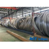 Quality 1 / 4 Inch Nickel Alloy Tube Welded Coiled Tubing With Bright Annealed Surface for sale