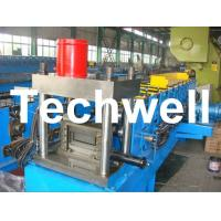 Quality 12 Forming Stations PLC Control System U Shape Roll Forming Machine for Steel U Purlin for sale